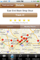 Find locations with beer stock using crowd-sourced data anywhere in the world